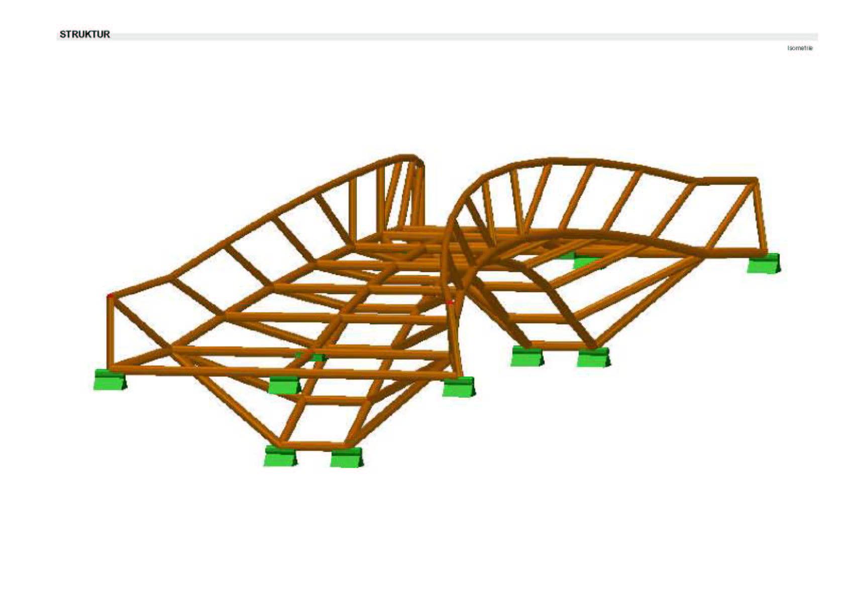 Taillierte Brücke (Gitter)